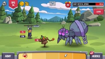 Скриншот android игры Idle Quest Heroes