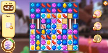 Скриншот android игры Candy Crush Tales
