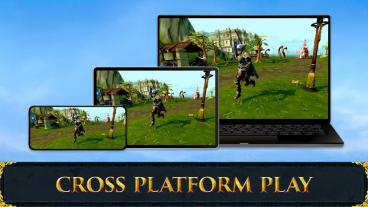 Скриншот android игры RuneScape Mobile