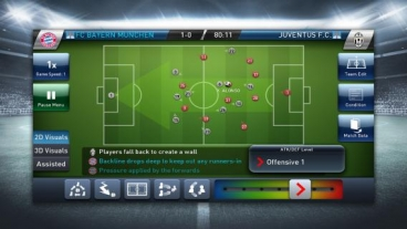Скриншот android игры PES Club Manager