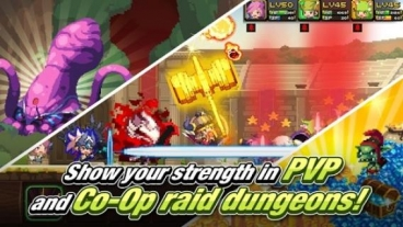 Скриншот android игры Crusaders Quest