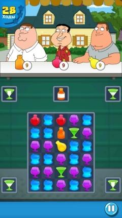 Скриншот android игры Family Guy: Another Freakin Mobile Game