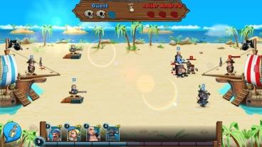 Скриншот android игры Pirate Brawl: Strategy At Sea