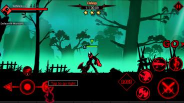 Скриншот android игры League Of Stickman 2
