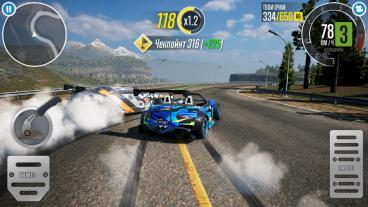 Скриншот android игры CarX Drift Racing 2