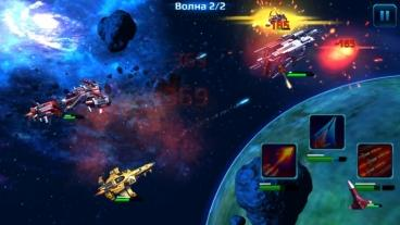 Скриншот android игры Star Conflict: Heroes