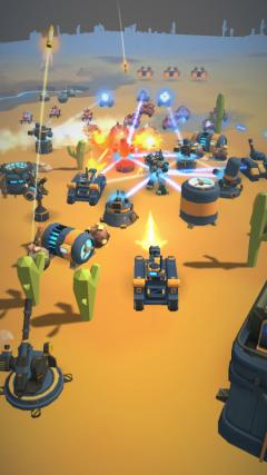 Скриншот android игры Planetary Warfare