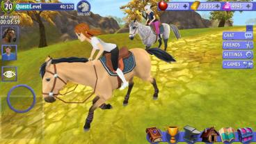 Скриншот android игры Horse Riding Tales