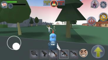 Скриншот android игры Battle Royale: FPS Shooter
