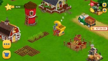 Скриншот android игры Farm Day Village