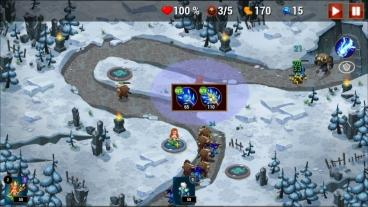 Скриншот android игры The Exorcists: Tower Defense