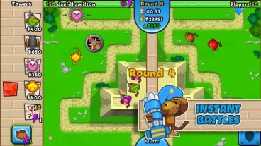 Скриншот android игры Bloons TD: Battles
