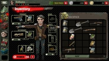Скриншот android игры The Walking Zombie 2
