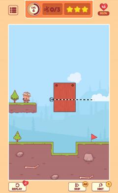 Скриншот android игры Cut To Go