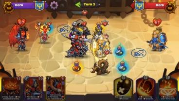 Скриншот android игры Heroes Of Magic
