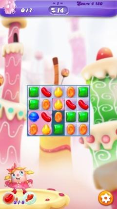 Скриншот android игры Candy Crush: Friends Saga