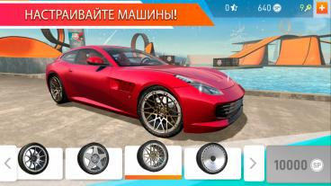 Скриншот android игры Car Stunt Races: Mega Ramps