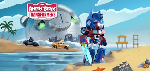 Angry birds transformers (мод: много денег) скачать на андроид.