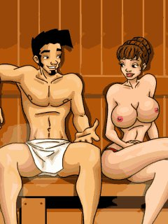 Игры секс сауна