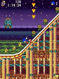 Sonic Advance (Evolution) - скачать java игру бесплатно для