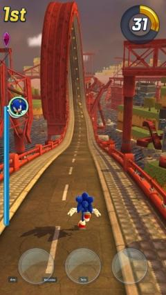 Скриншот android игры Sonic Forces: Speed Battle