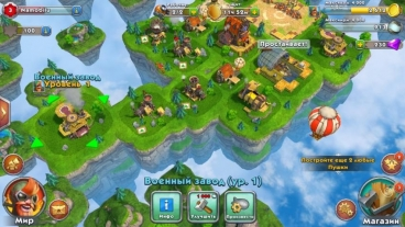 Скриншот android игры Sky Clash: Lords Of Clans 3D