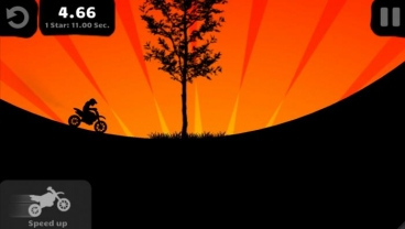 Скриншот android игры Sunset Bike Racer
