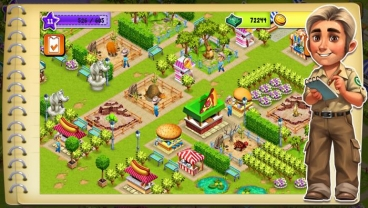 Скриншот android игры Zoo Craft
