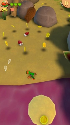 Скриншот android игры Frogged: A Kings Long Way Back Home