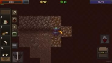 Скриншот android игры Caves Roguelike