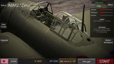 Скриншот android игры World War 2: Wings Of Duty
