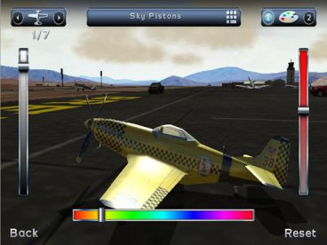 Скриншот android игры Breitling: Reno Air Races