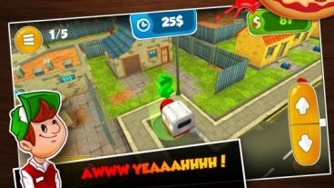 Скриншот android игры 3D Driving Sim: Pepperoni Pepe