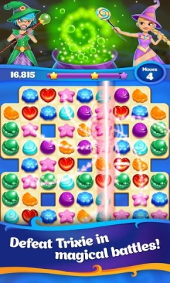 Скриншот android игры Crafty Candy