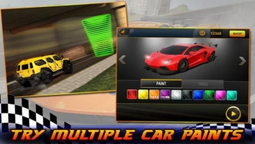 Скриншот android игры Furious Car Driver 2016