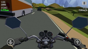 Скриншот android игры Cafe Racer