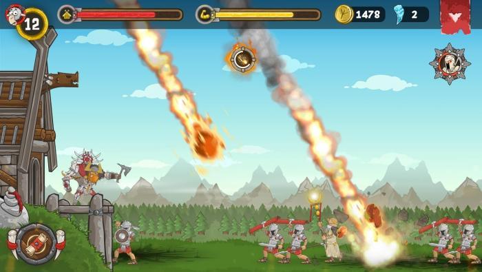 игры битвы римлян