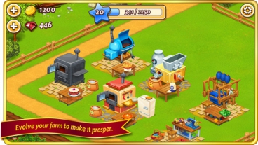 Скриншот android игры Farm Town