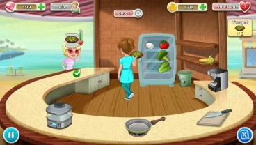 Скриншот android игры Kitchen Story / Кухонная История