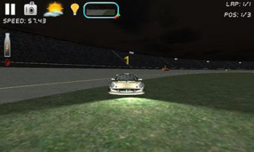 Скриншот android игры Race n Chase: 3D Car Racing
