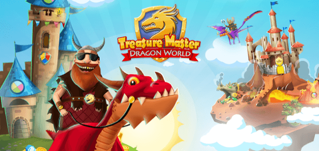 Скачать android игру Treasure Master: Dragon World на cмартфон и планшет. Treasure Master: Dragon World - android игра на телефон бесплатно