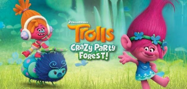 Скачать android игру Trolls: Crazy Party Forest на cмартфон и планшет. Trolls: Crazy Party Forest - android игра на телефон бесплатно