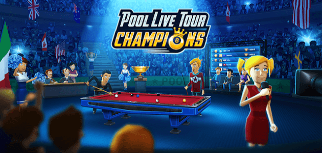 Скачать android игру Pool Live Tour: Champions на cмартфон и планшет. Pool Live Tour: Champions - android игра на телефон бесплатно