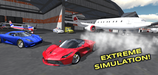 Скачать android игру Extreme Car Driving Simulator на cмартфон и планшет. Extreme Car Driving Simulator - android игра на телефон бесплатно