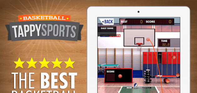 Скачать android игру Tappy Sports: Basketball на cмартфон и планшет. Tappy Sports: Basketball - android игра на телефон бесплатно