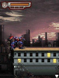 Скриншоты java игры Трансформеры 2 Месть Падших / Transformers 2