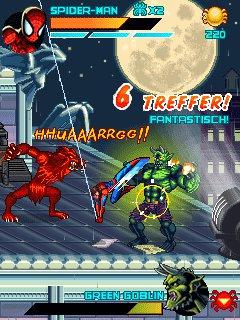 Скриншоты java игры человек паук