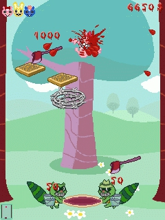 Java-игра happy tree friend homerun