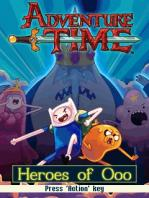Adventure Time: Heroes Of Ooo / Время Приключений: Герои Ууу