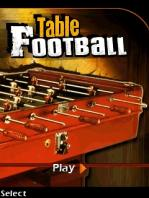 Table Football / Настольный Футбол
